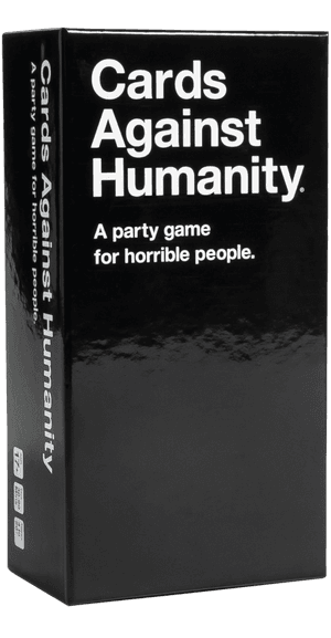 Cards Against Humanity (Three-Quarter View of Box)