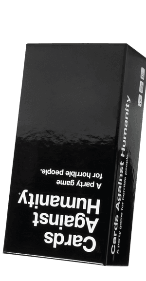 Cards Against Humanity (Front of Box View, Upside-down)