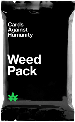 Weed Pack (Front of Wrapper)