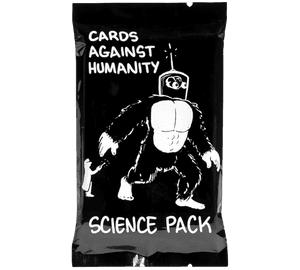 Science Pack (Opened Wrapper, Showing Cards Inside)