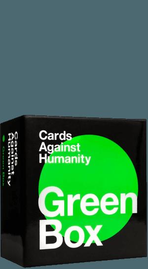 Green Box (Three-Quarter View of Box)