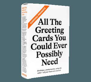ClickHole Greeting Cards (Three-Quarter View of Box)