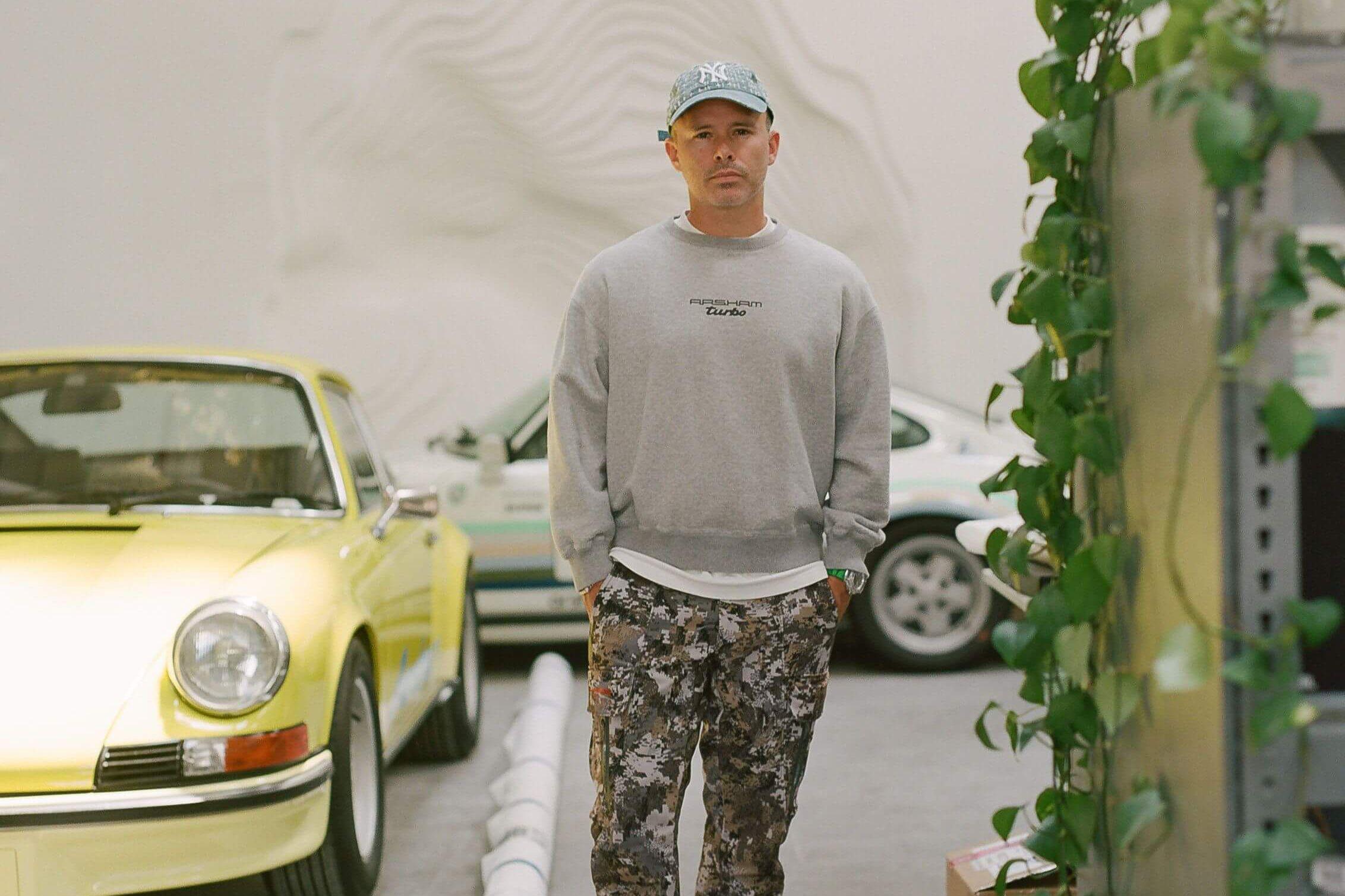 Artist Daniel Arsham on Loving Cars, and Eroding Them