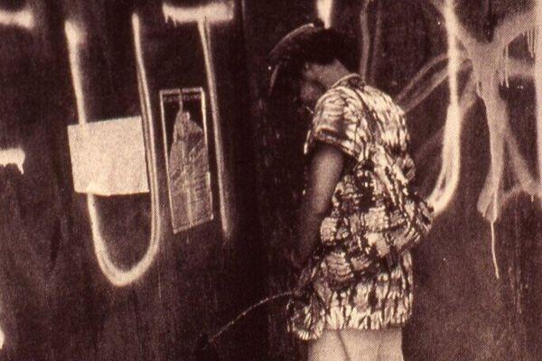David Hammons, Pissed Off, 1981