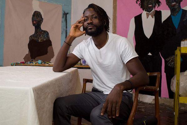 Amoako Boafo, Artist