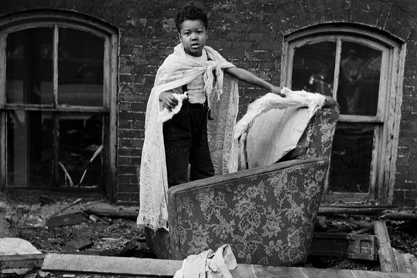 Gordon Parks — Ghetto Boy. Chicago, Illinois, 1953