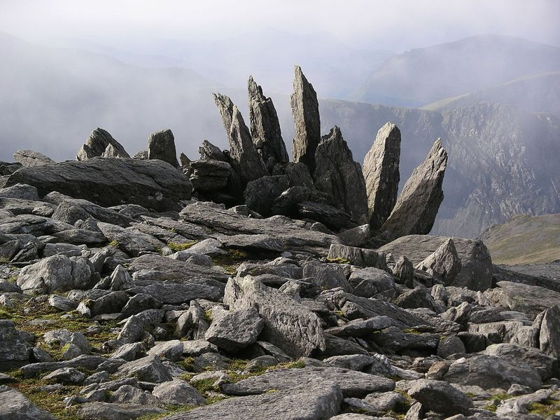 Glyder Fawr mountain wales