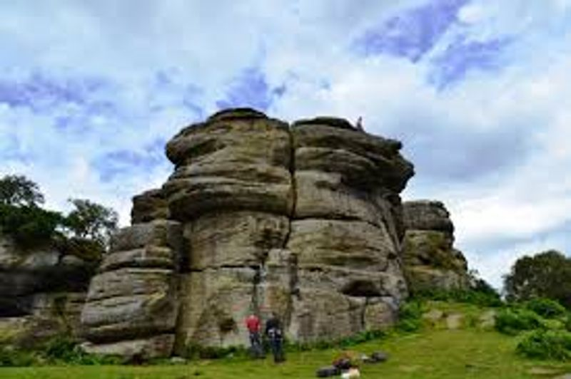 brimham rocks rock climbing