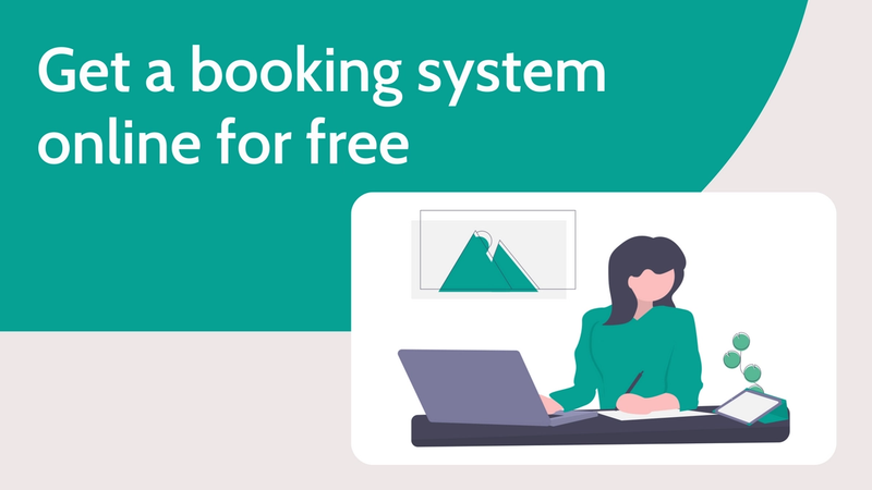 Get a booking system online for free with Beyonk