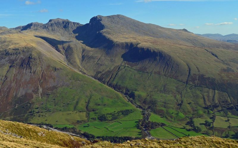 sca fell second highest mountain