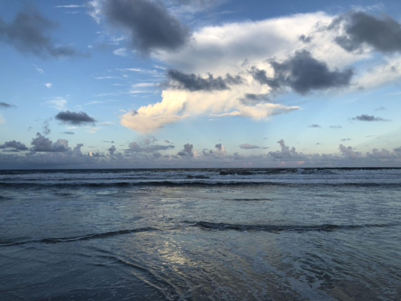 Atlantic ocean in north Florida