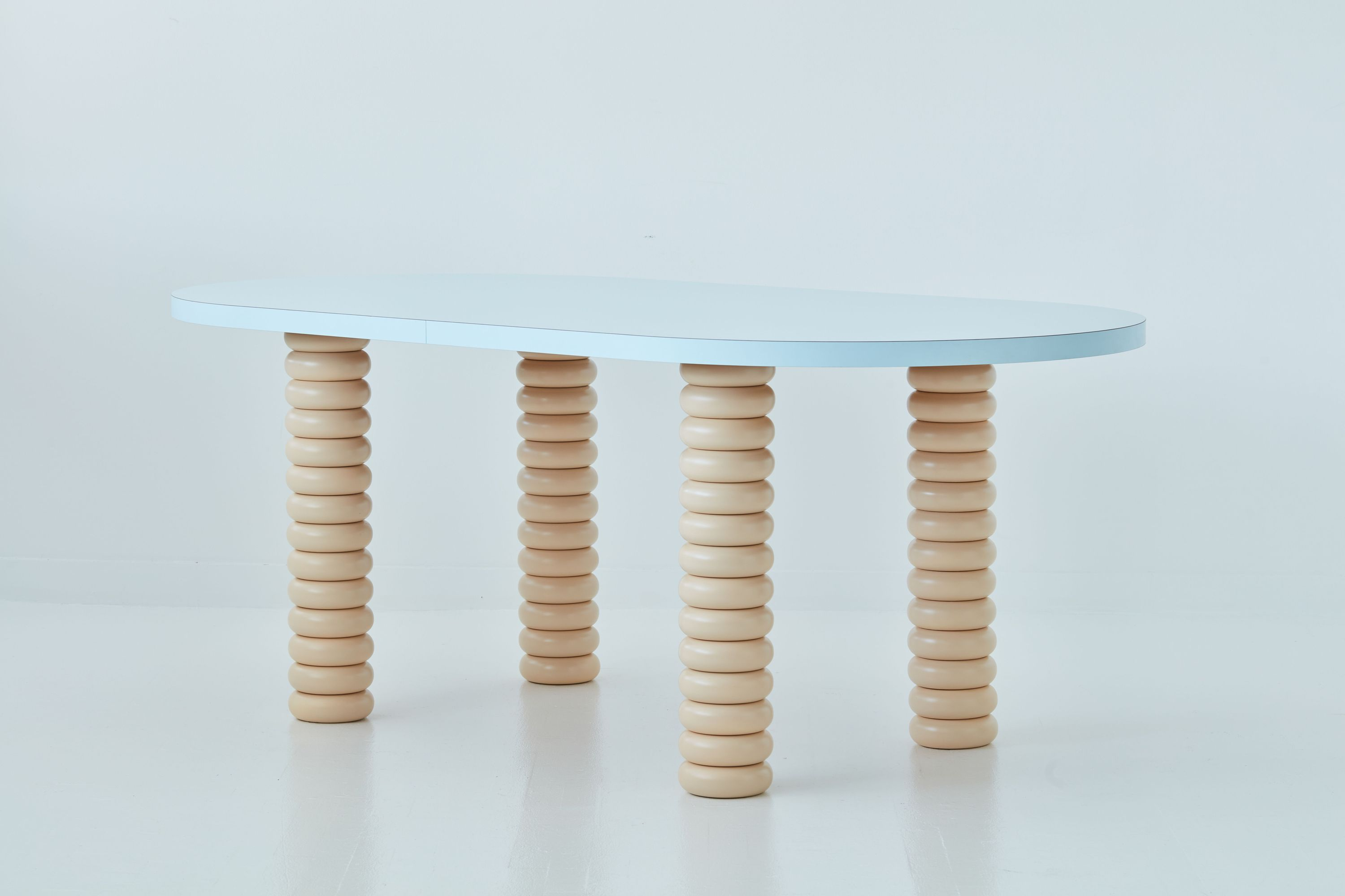 Sam Stewart, LC Table, Private table commission, NYC, 2020,
