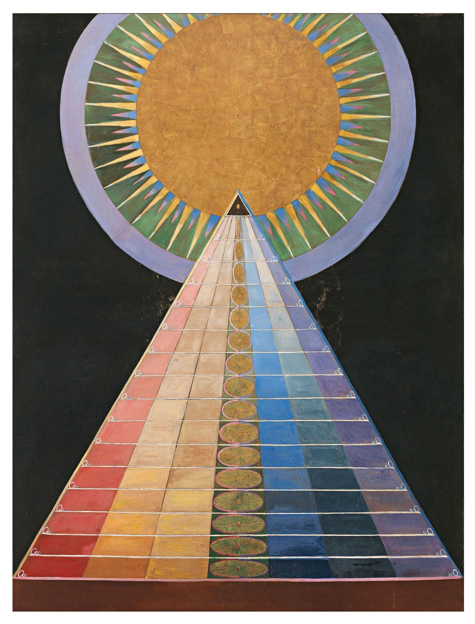 Painting Alter Number 1 by Hilma Af Klimt