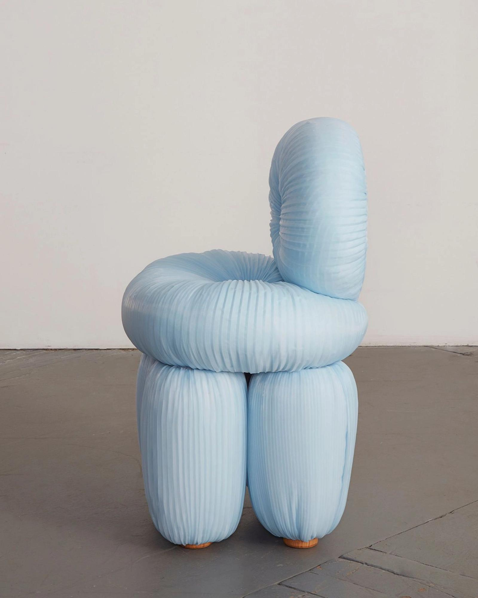 Aengus Chair, Chairs Beyond Right & Wrong, R & Co., NYC 2019. Image Courtesy of the Artist.