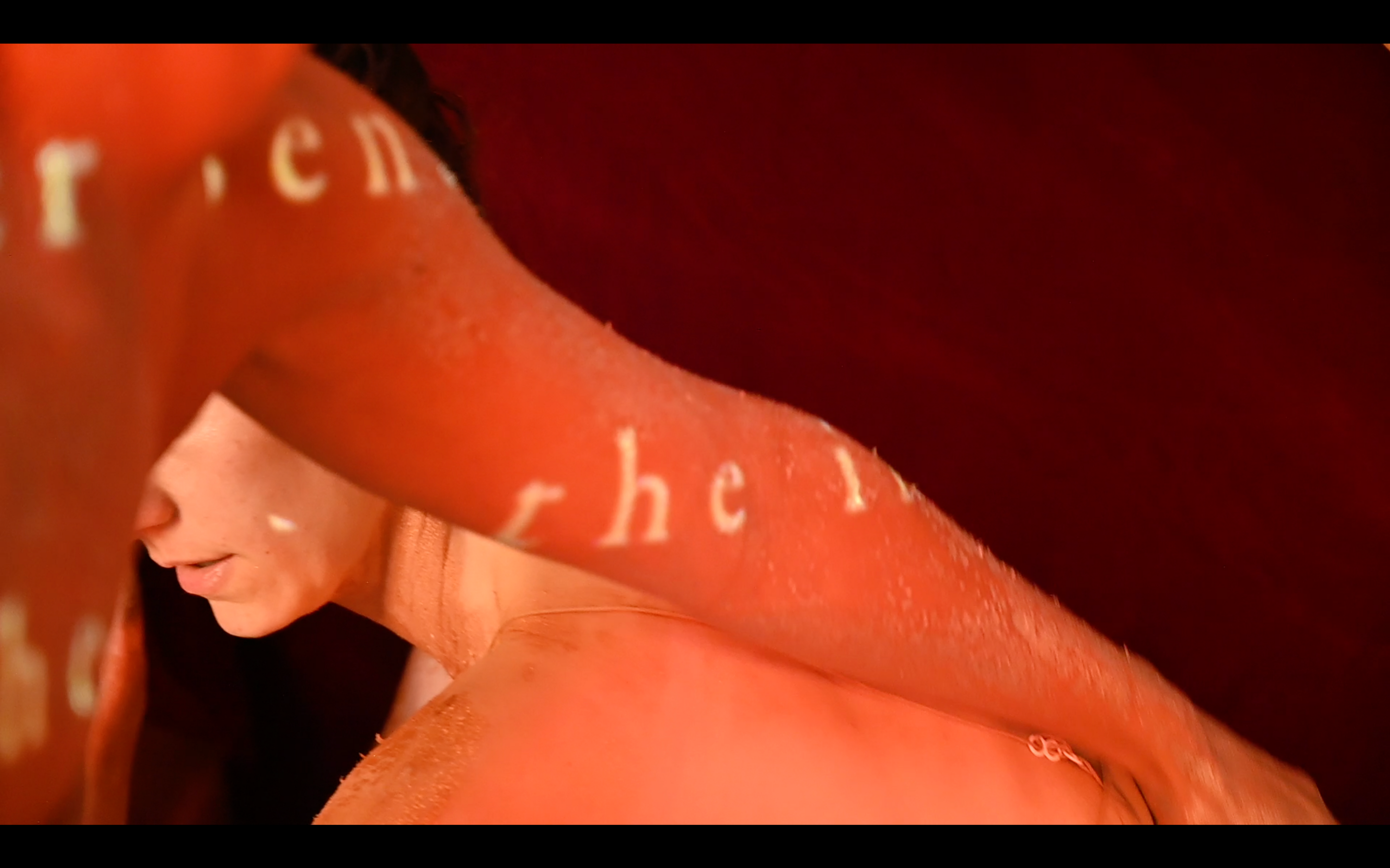 Video still from Beneath the surface.