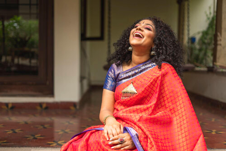 Roopa Mahdeva smiling