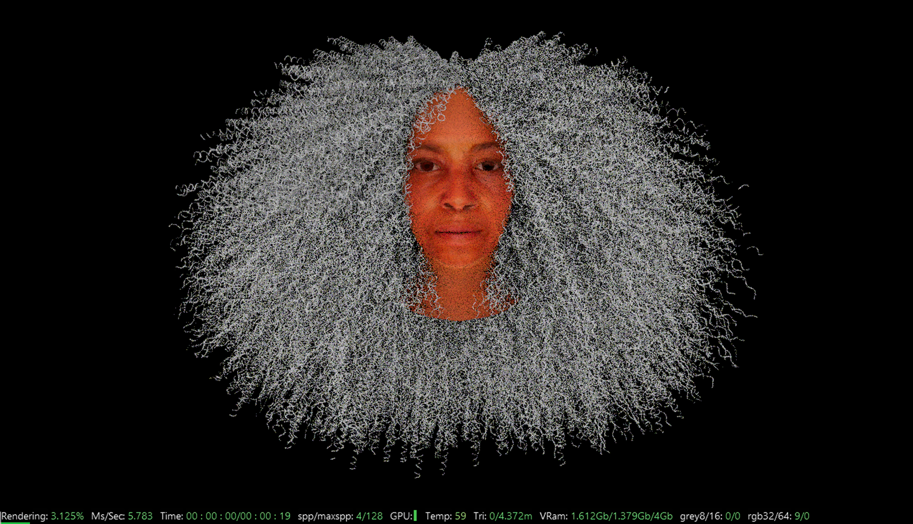 Stephanie Dinkins, Not the Only One becoming embodied, created out of a composite of the women who inform the AI