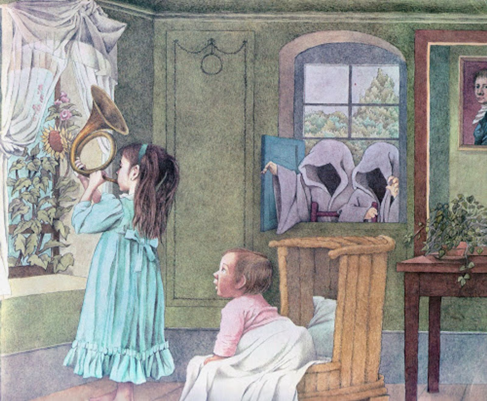 From Outside, Over There, by Maurice Sendak