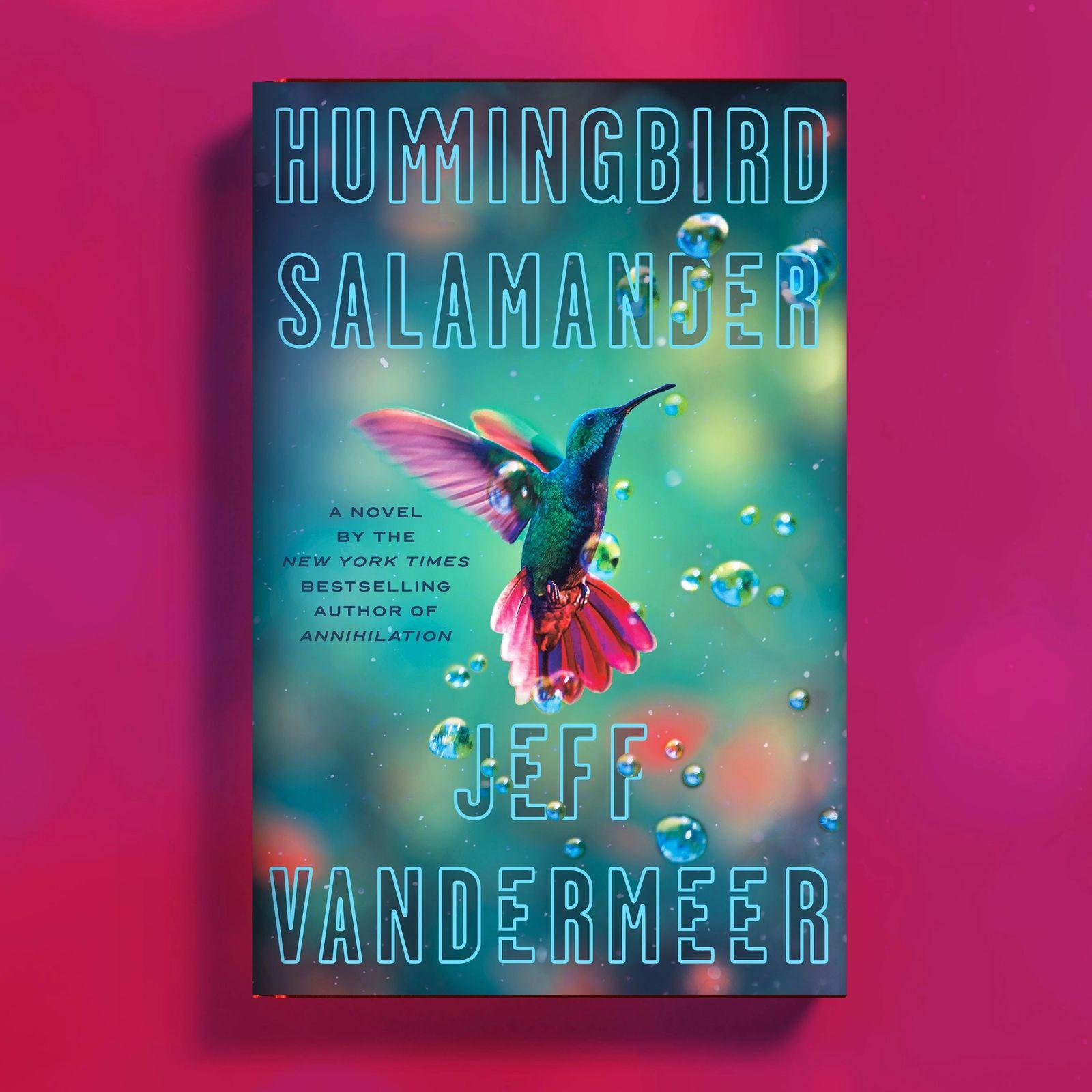 The book cover of Hummingbird Salamander.