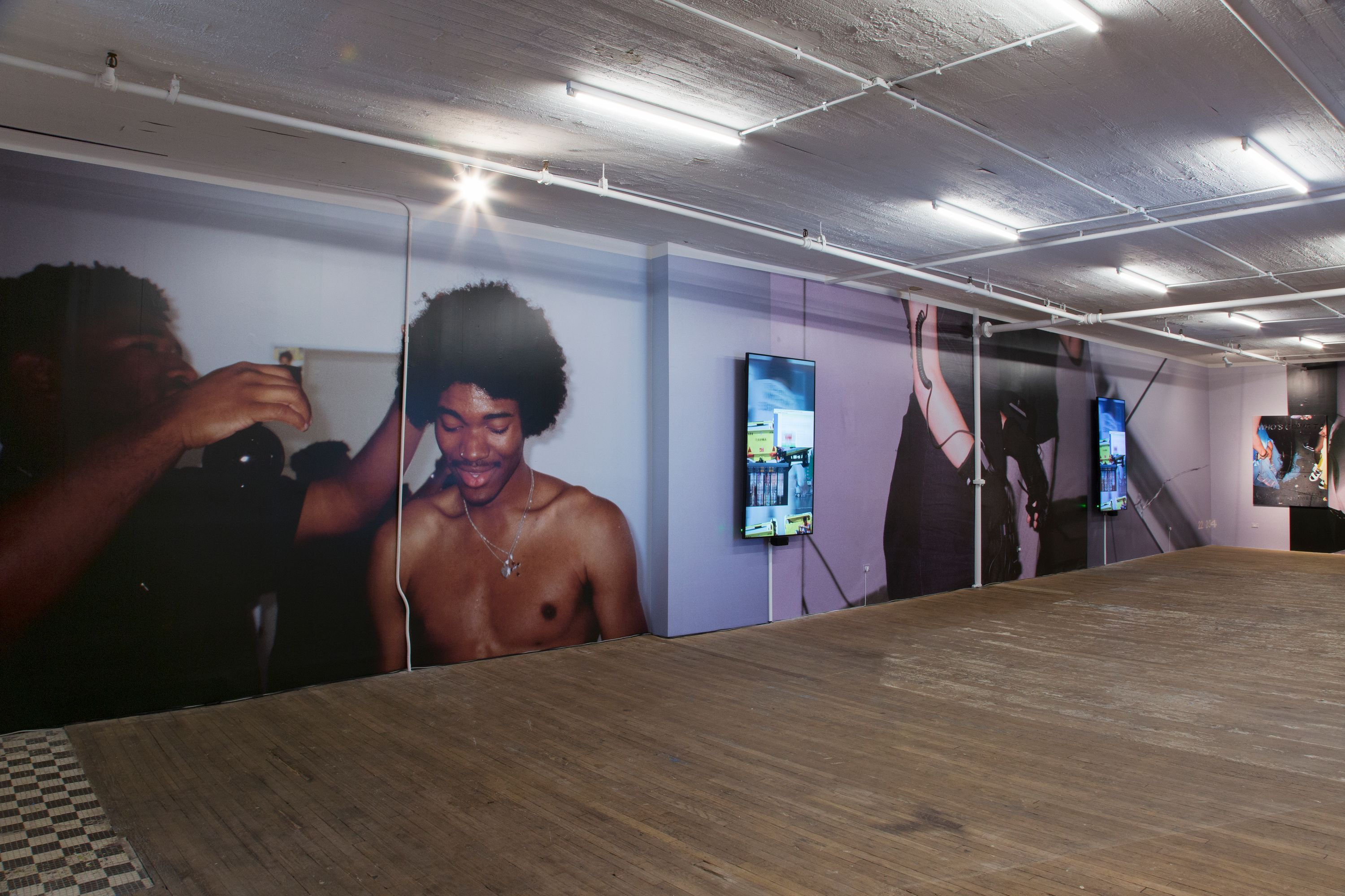 Martine Syms Big Surprise at Bridget Donahue gallery in new york