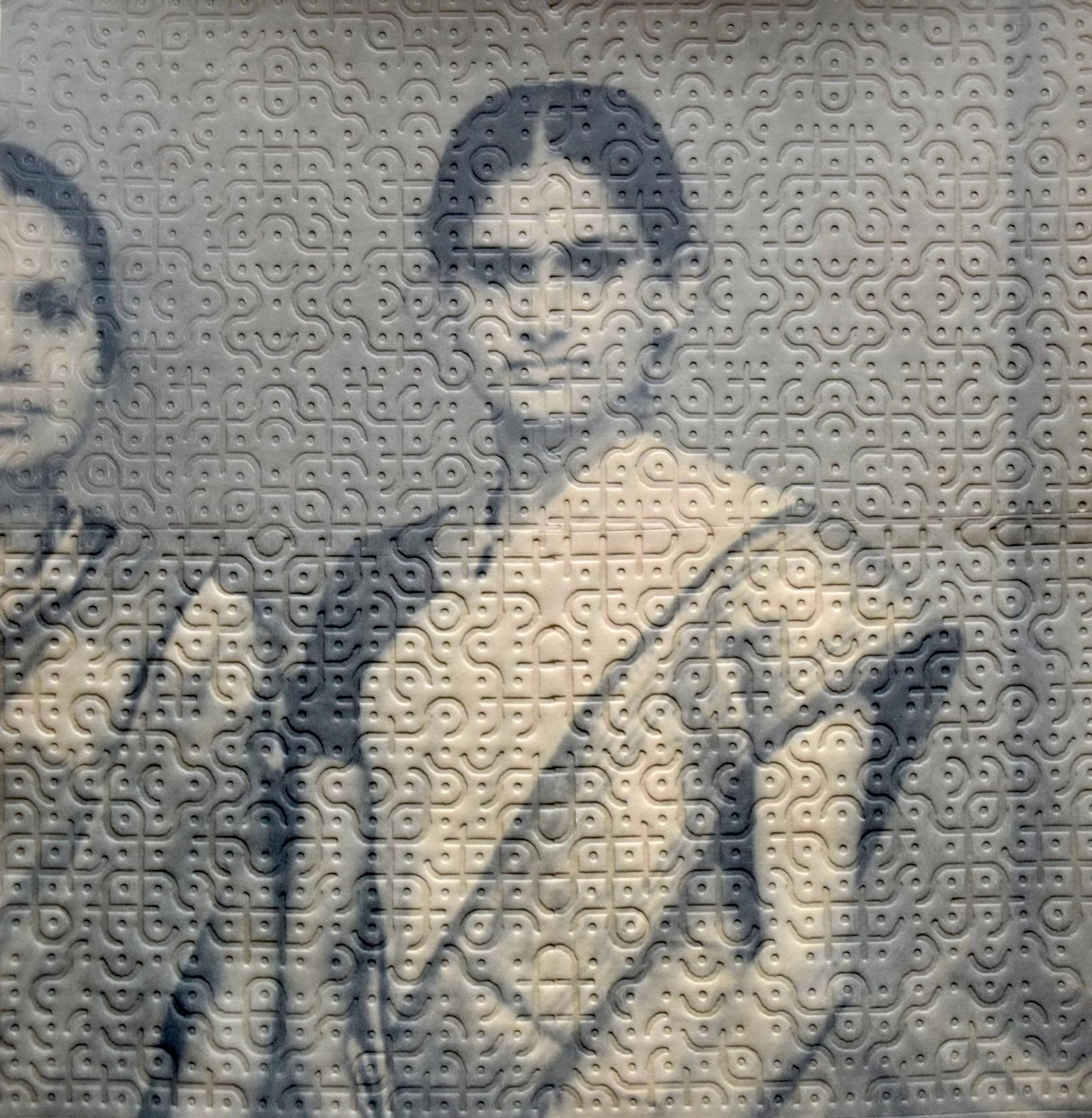 Black and white portrait of Akkapeddi's grandmother.
