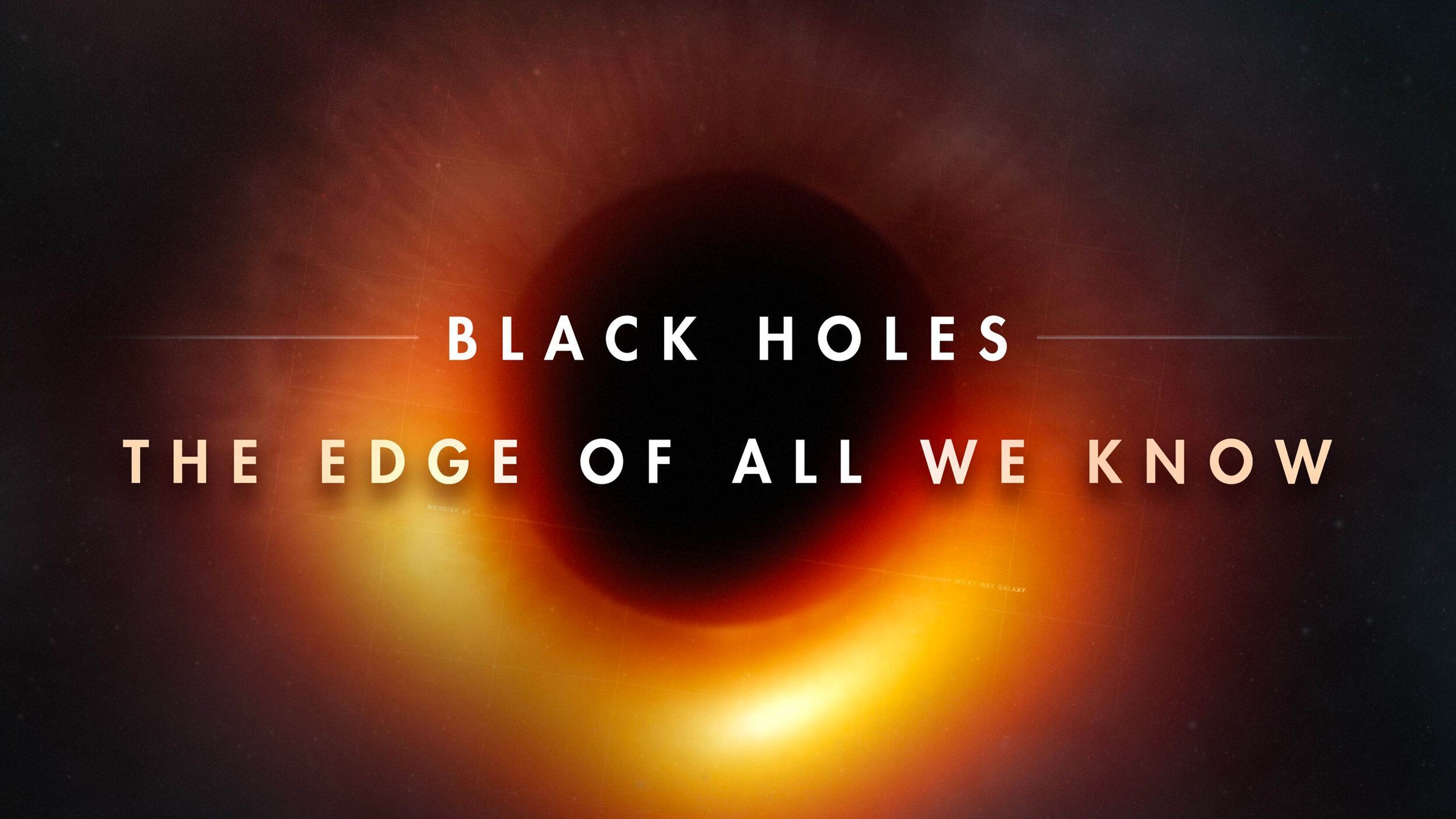 The first image taken of a black hole.