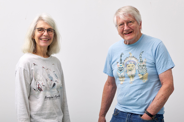 Sally Saul and Peter Saul