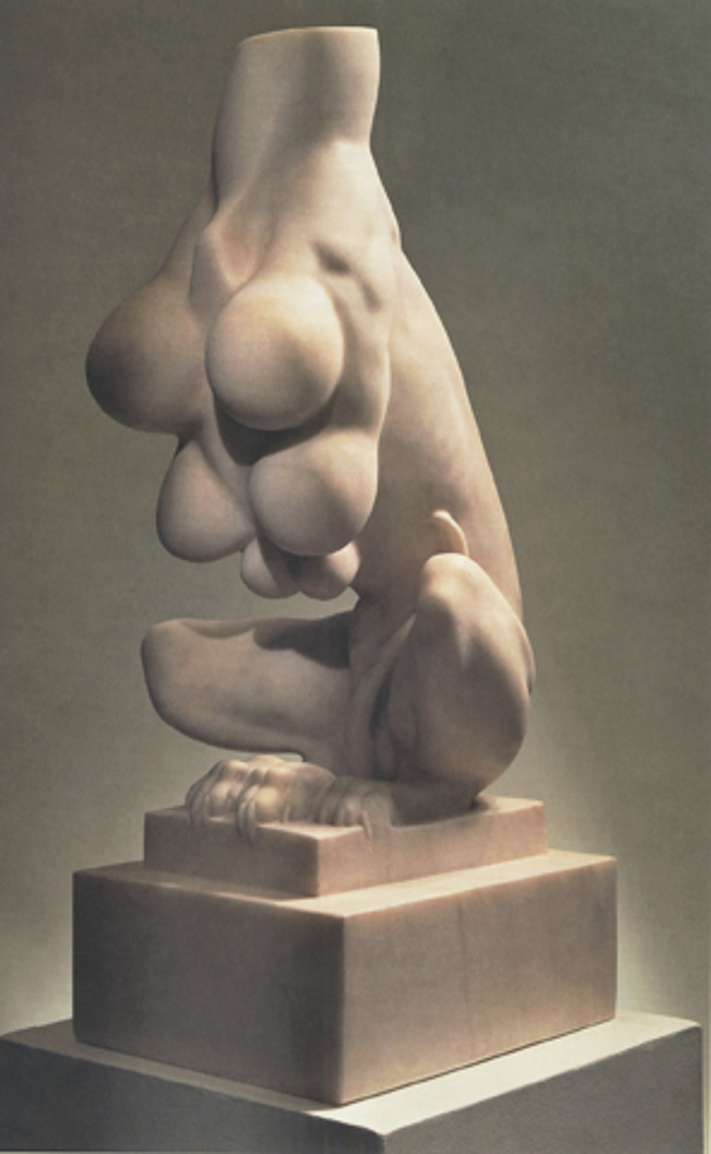 """Louise Bourgeois curvaceous sculpture entitled """"Nature Study"""""""