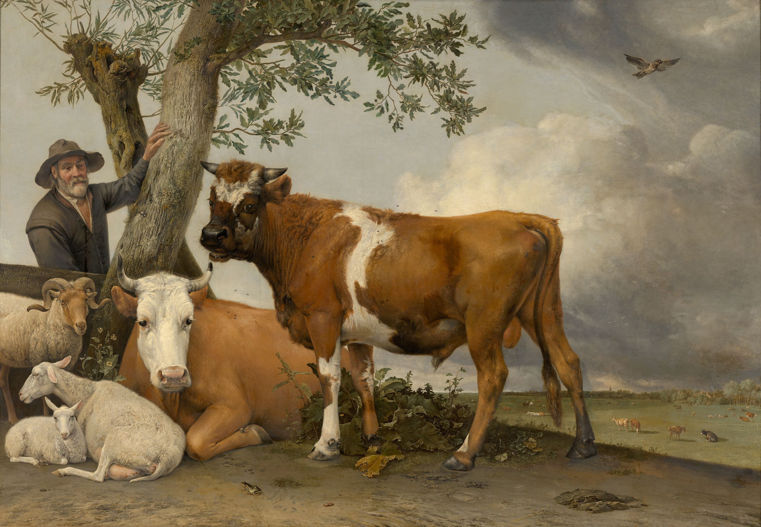 Painting The Cow, by Paulus Potter