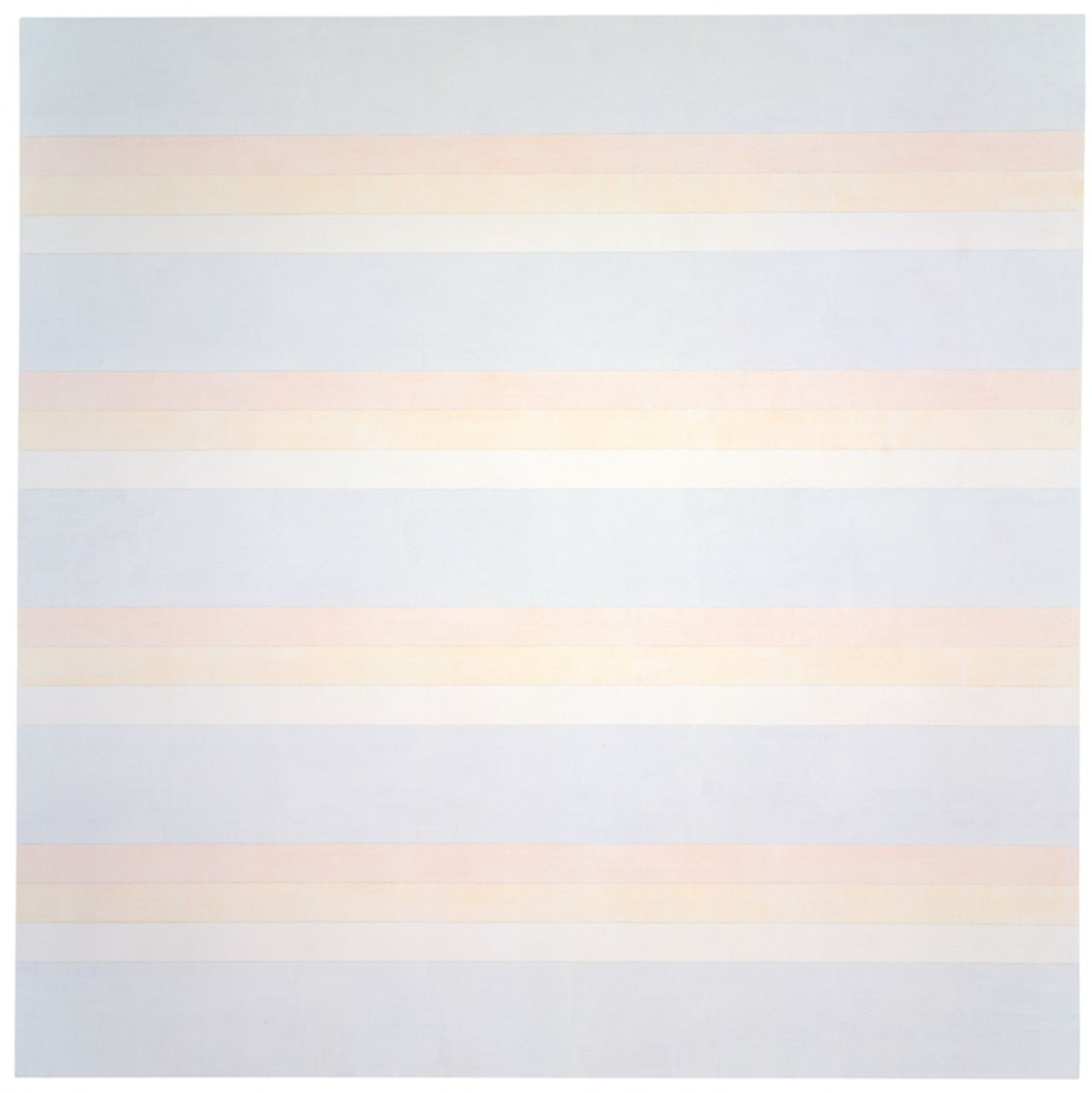 Painting Untitled #2, by Agnes Martin