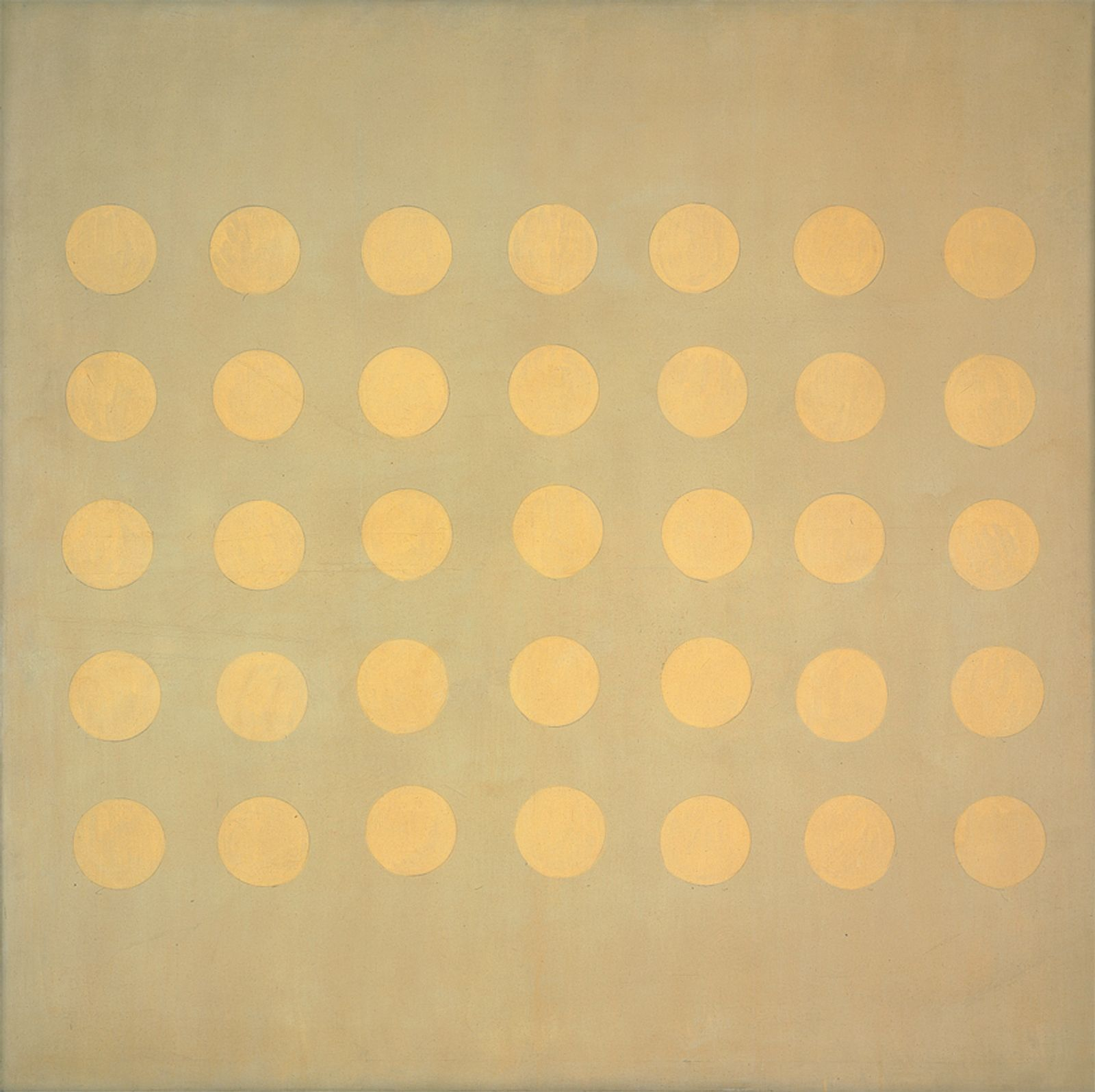 Painting Starlight, by Agnes Martin