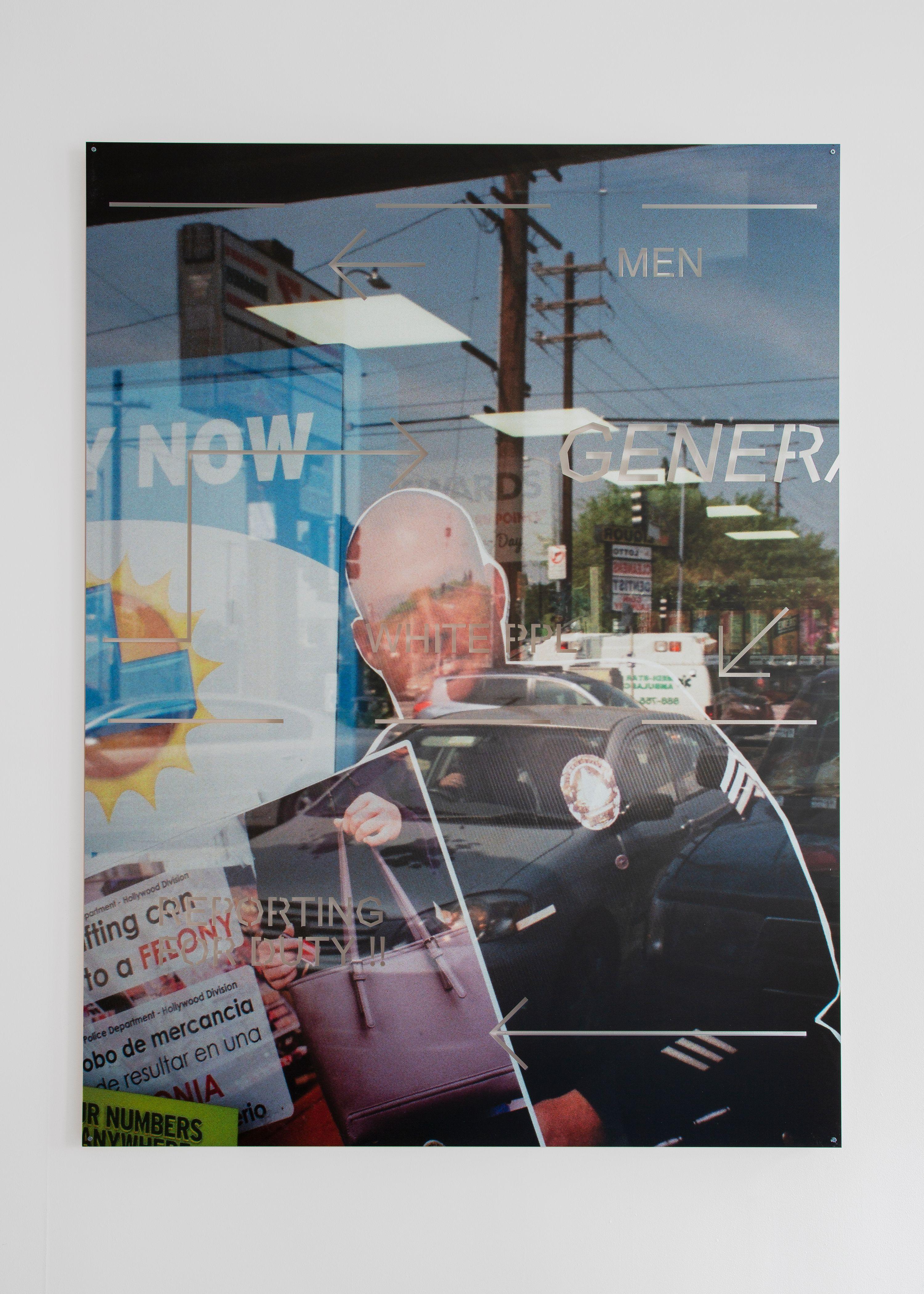 Martine Syms Big Surprise at Bridget Donahue gallery