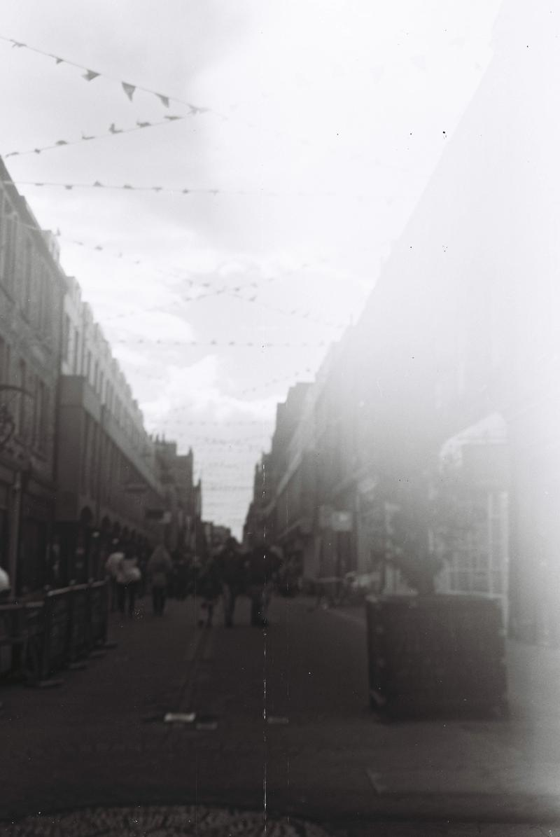 Street with bunting