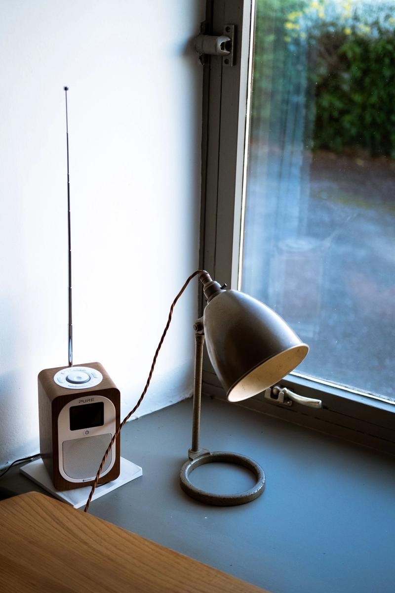 Radio and lamp