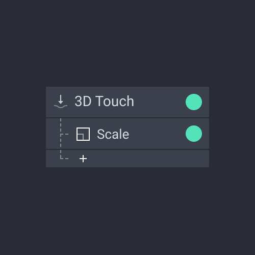 panel trigger 3d touch
