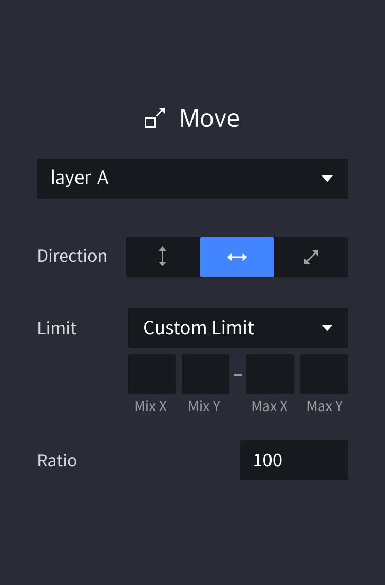 panel drag move