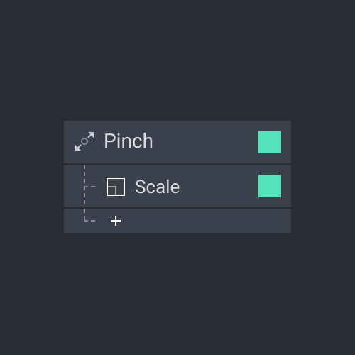 panel trigger pinch