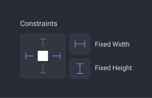 fixed spacing property