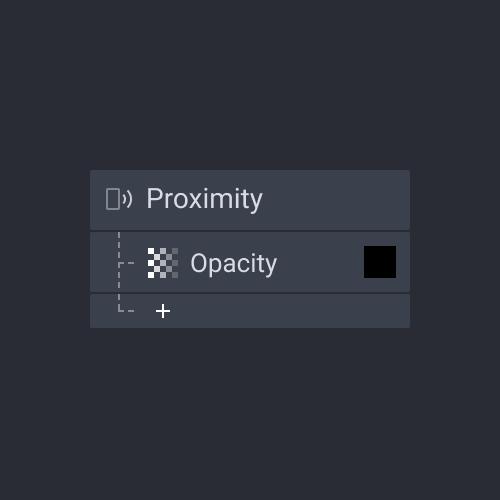 panel trigger proximity
