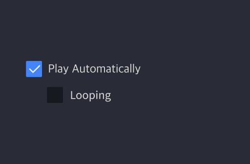 video lottie audio layer property