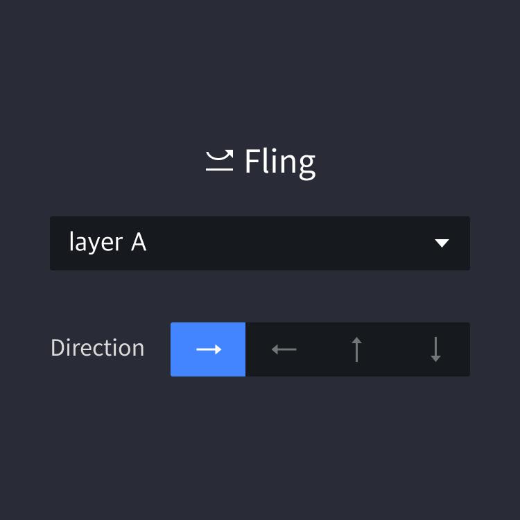 panel fling