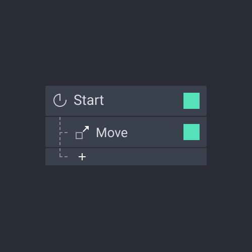 panel trigger touch start