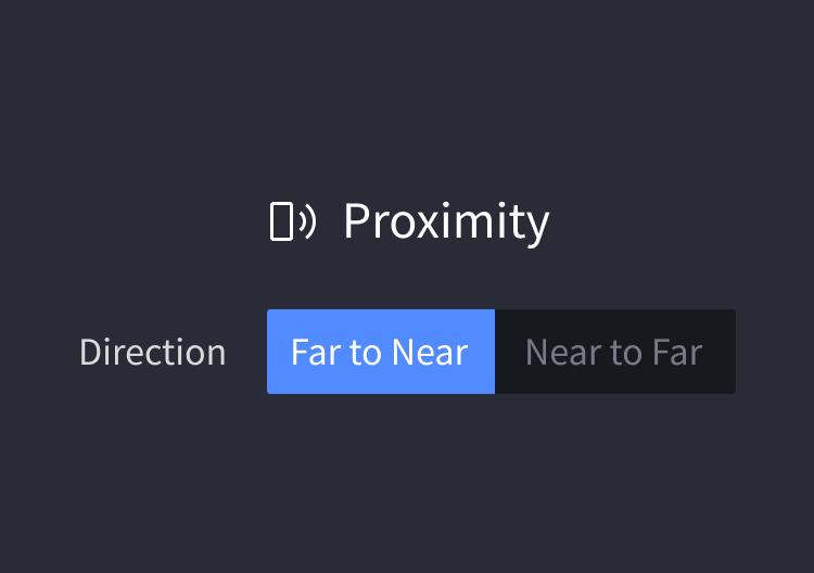 panel proximity