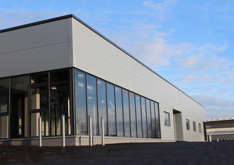 AluFold Direct Blackburn Building