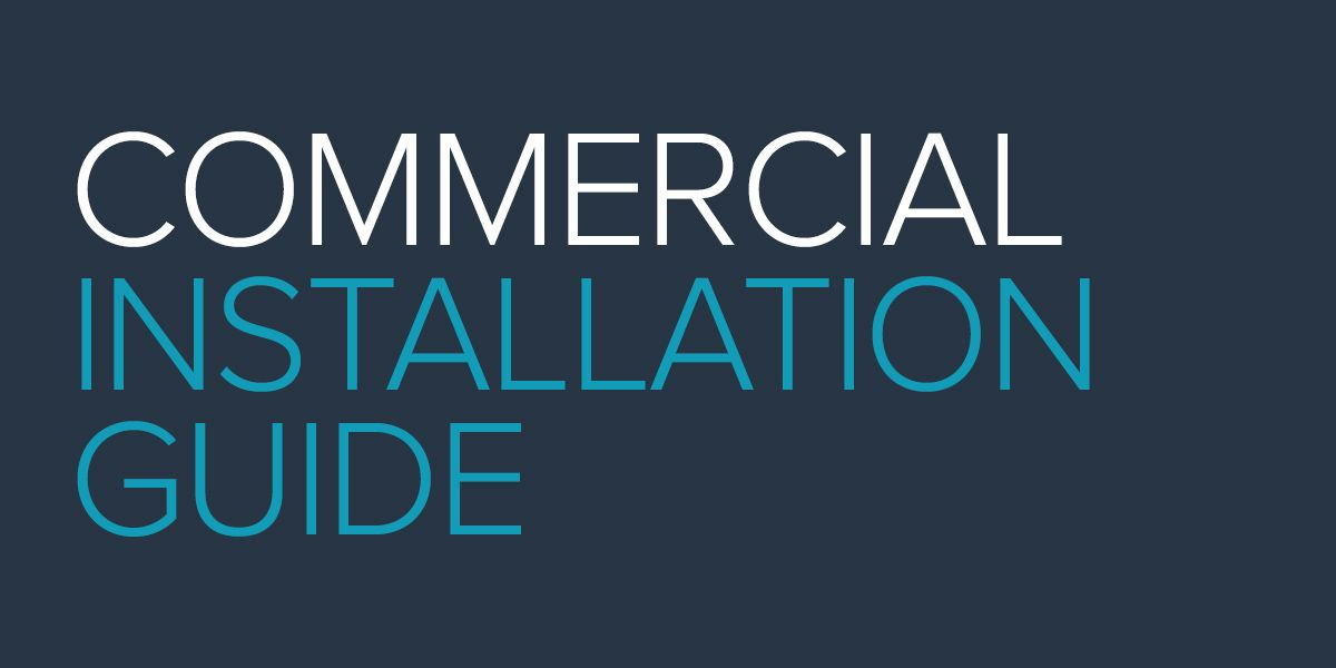 Commercial Installation Guide