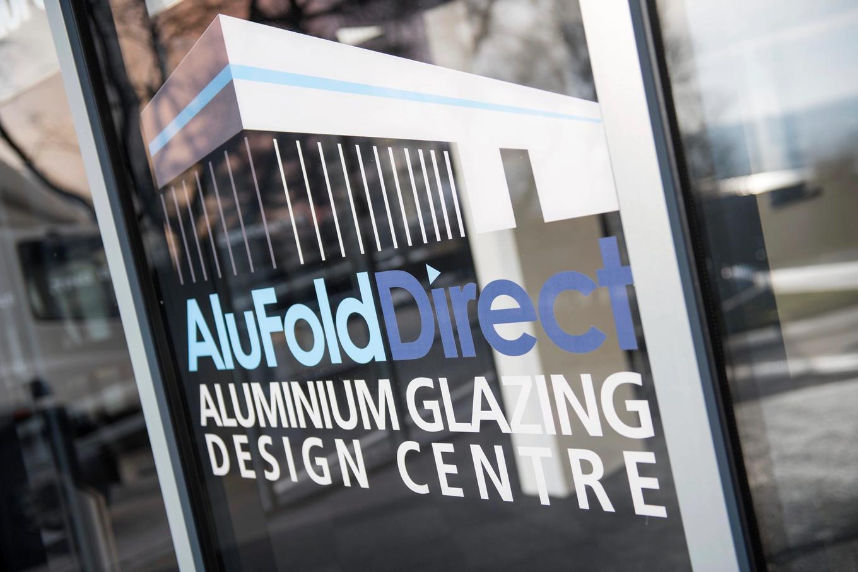 AluFold Direct Aluminium Glazing Design Centre Door