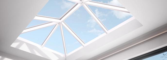 Aluminium Roof Lanterns white ceiling