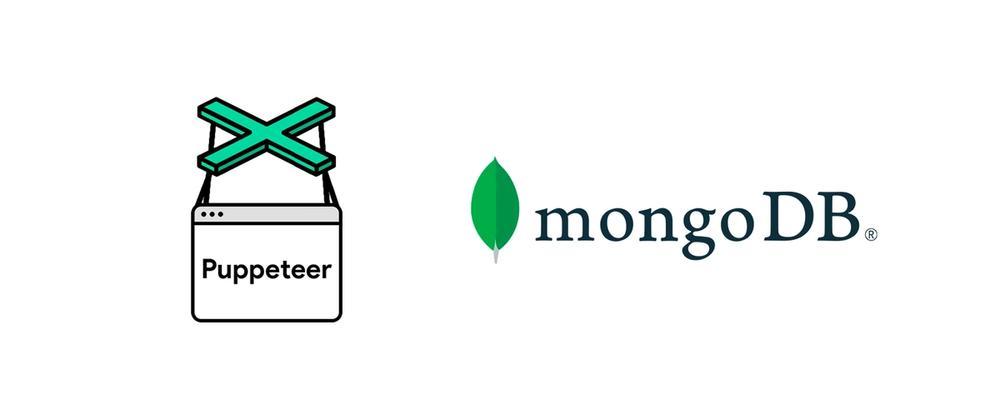 Puppeteer and MongoDB