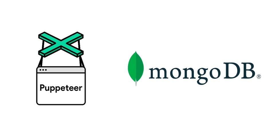 Puppeteer and MongoDB