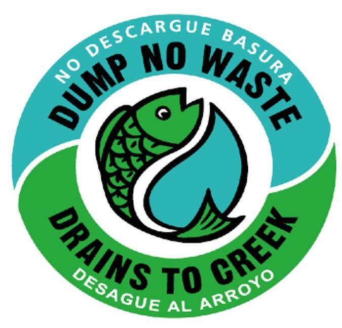 Dump No Waste Sign